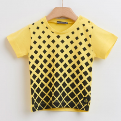 T-shirt black & yellow Yellowsub για αγόρι